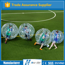 Manufacturer direct inflatable human soccer bubble ball zorb bumper ball