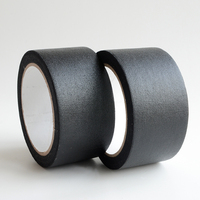 Black white 2 inch 60 yards premium grade custom gaffa tape waterproof gaffer tape for bookbinding