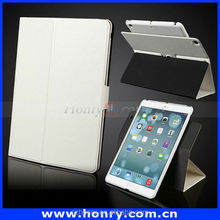 Hot sale leather case for ipad 5 book case leather protector for ipad air