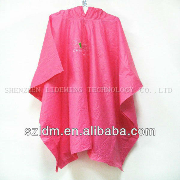 china travel folding raincoat