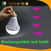 Looking for agents in Indian Led Smart Bulb 7w Led Emergency Light Rechargeable Battery E27 Lamp For Home 2835smd Ac110v 220v