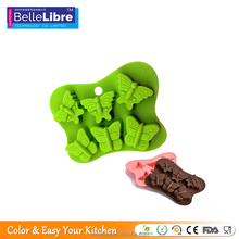 Healthy And Durable Silicone Butterfly Cake Mold