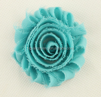 "hot sale 3"" chiffon lace flower wholesaler, high-grade fashionable dress/ hats, children hair decoration accessories"