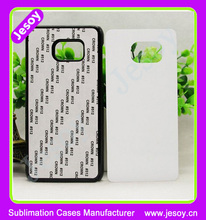 JESOY Wholesale For Samsung Galaxy Note 2 3 4 5 Sublimation Rubber 2D Case Blank and insert