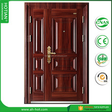 simple modern house main entrance steel security door, latest main gate design steel entry door for villa exterior front door