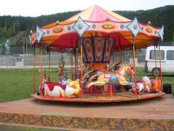 Electric Amusement Carrousel