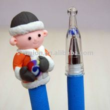 Newest pretty promotional polymer clay pen