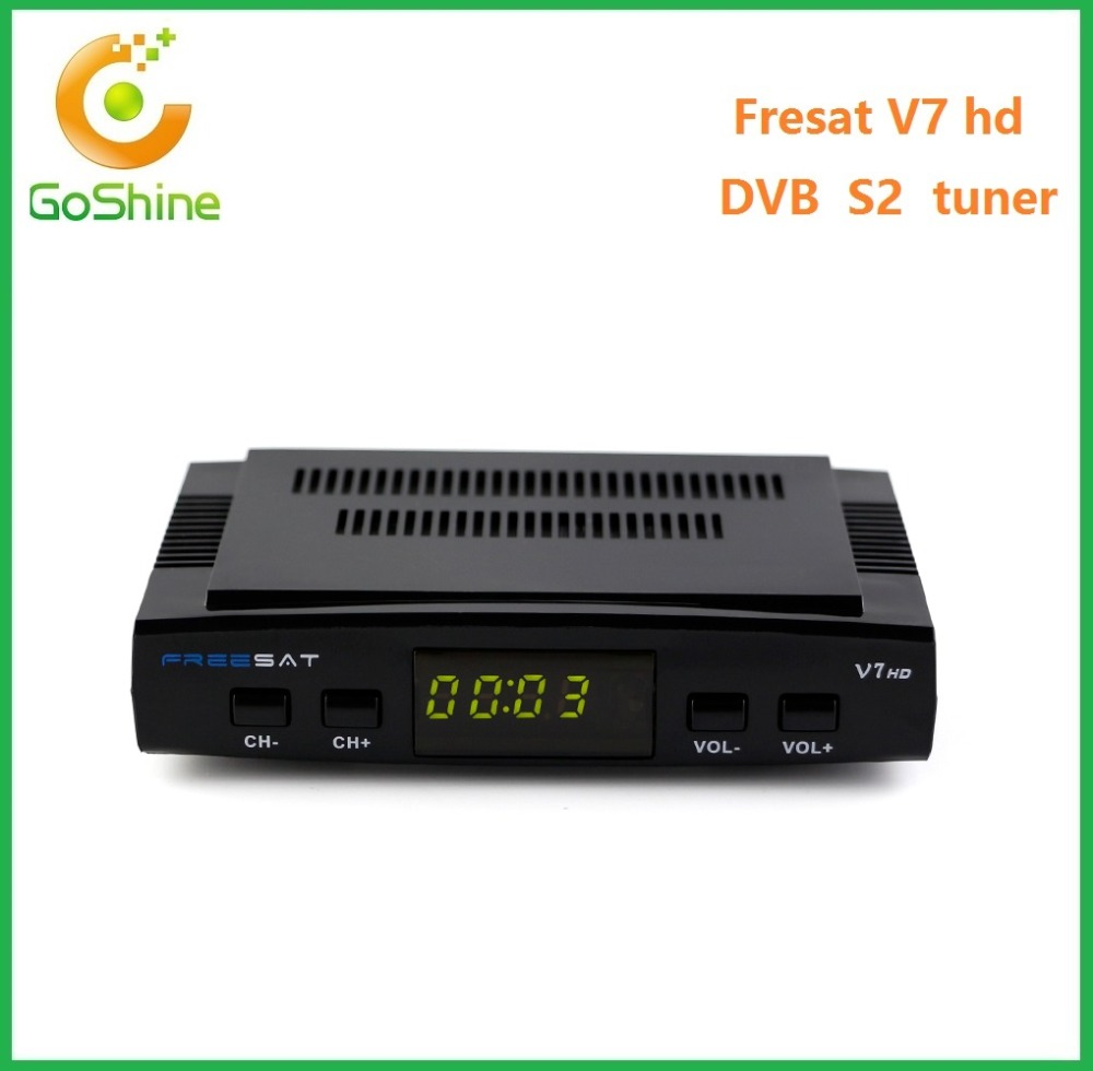 Stocks for original Freesat V7 Max powervu autoroll hd DVB-S2 digital satellite receiver