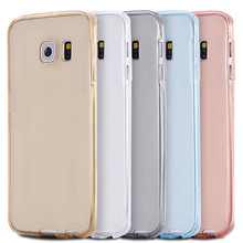 360 degrees soft tpu full cover for Samsung galaxy Note 3 crystal clear phone case