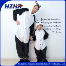 Animal unisex animal costume kids pajamas cosplay panda costume