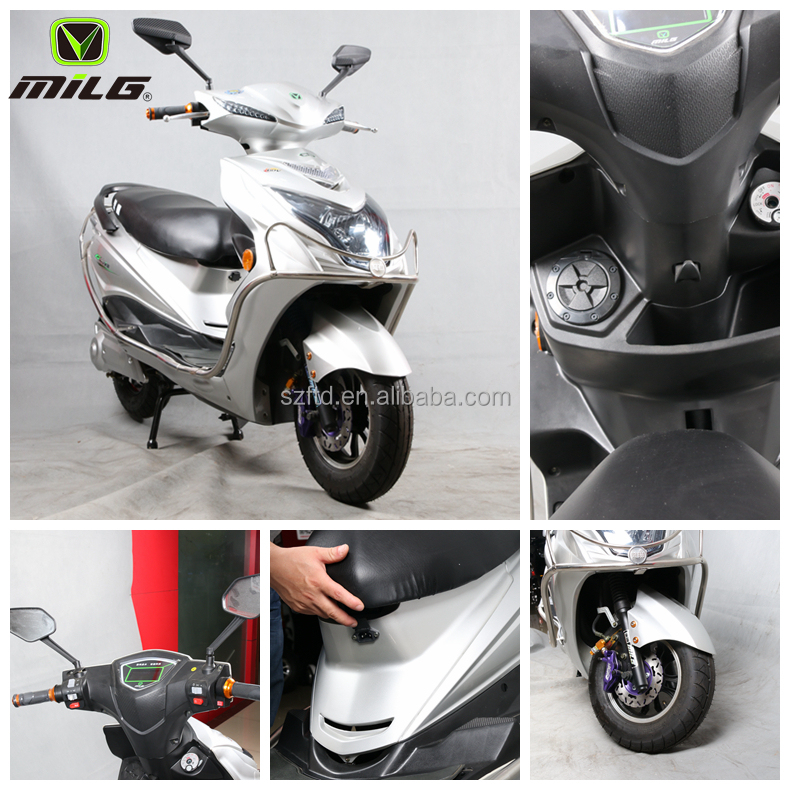 New product 1000W 72V adult electric motorcycle 2 wheel battery powered scooter cheap electric moped