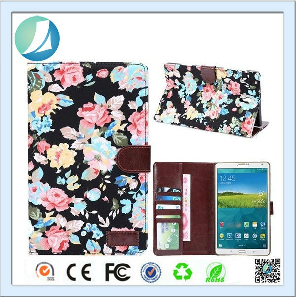 Diary Pouch Wallet Case for samsung galaxy tab pro 8.4 T700