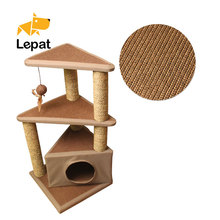 Sisal Scratch Post ,Cat scratching tower , tree for <strong>Pet</strong> & Cat Toy
