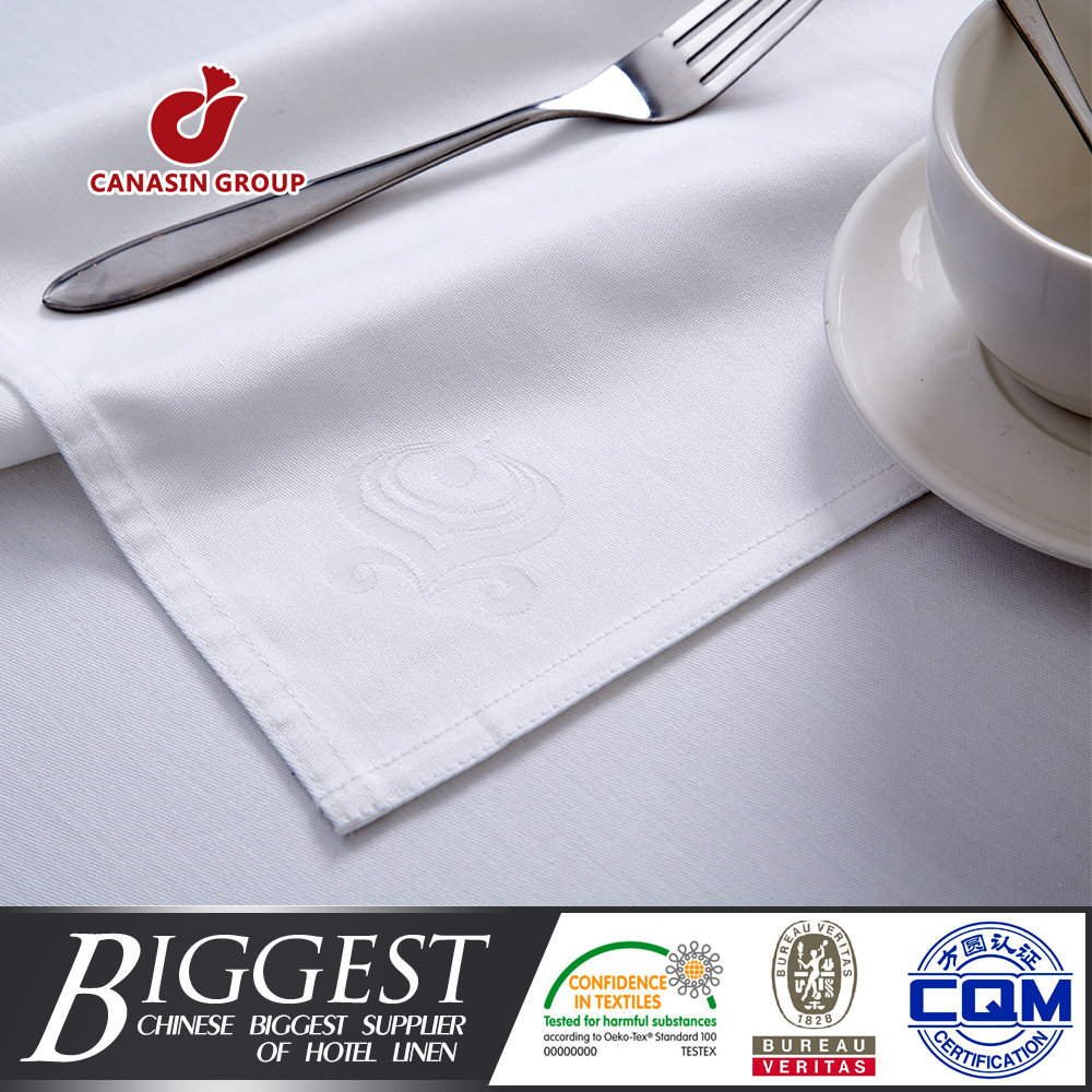 personalized airline linen cloth napkins