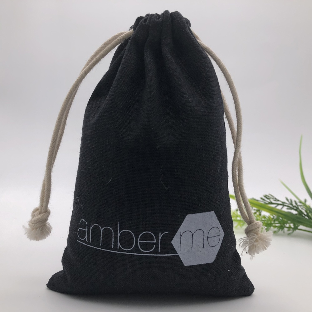 Personalized Cotton Gift Drawstring Bag For <strong>Promotion</strong>