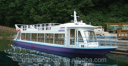 60Seats Steel Touring and Sightseeing Boat/Passenger boat for Sale