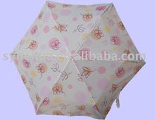 bright colored umbrella