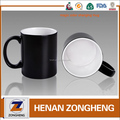wholesale price sublimation temperature control heat press sensitive color changing magic coffee mug cup
