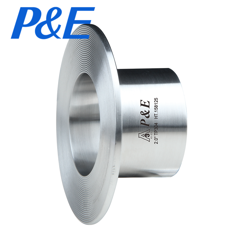 14WA Sanitary Stainless Steel pipe lap joint flange butt weld Stub End