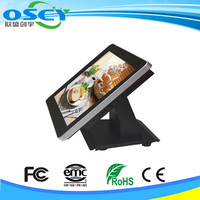 15inch touch screen pos cash register with scanner