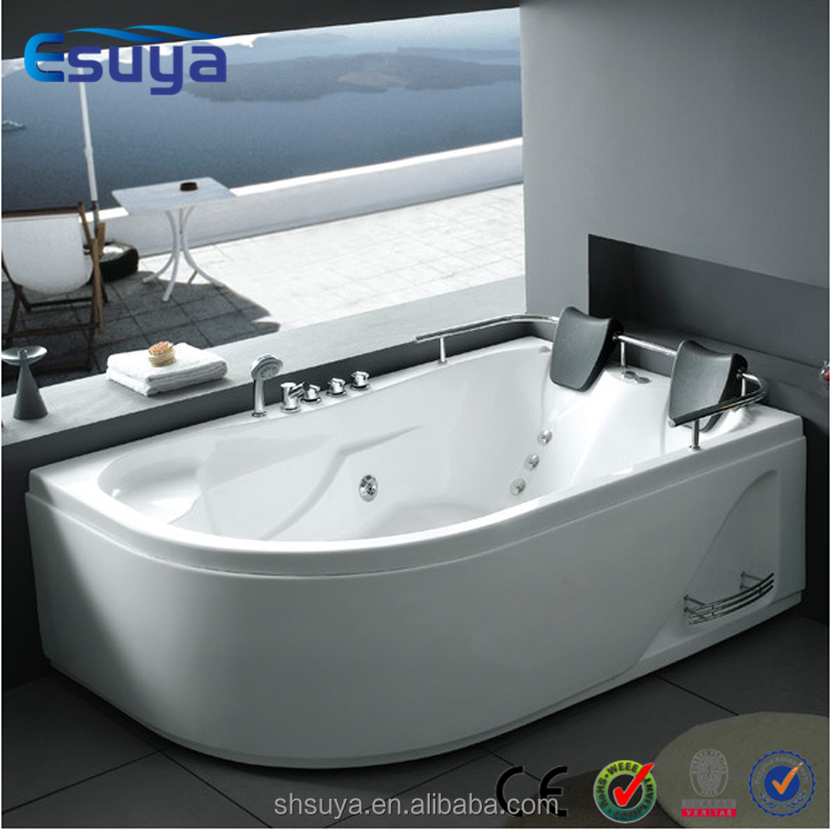 2015 European style indoor 2 person acrylic massage freestanding spa whirlpool bathtub spa bath prices
