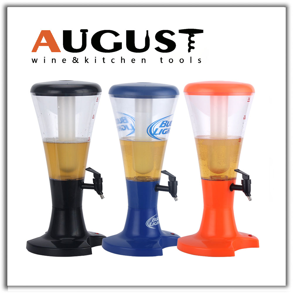Custom logo/color Drink Dispenser and Drink Beer Tower for sale