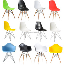 Wholesale modern replica Emes Side Chair Armchair Eiffel Lounge Dining Plastic Chairs