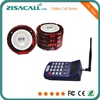 Restaurant Service Equipment Wireless Waiter Buzzer