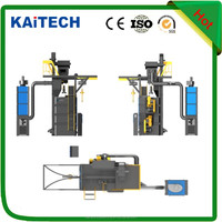 hook type shot blasting machine with high efficiency