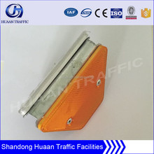 highway guardrail plates reflectors