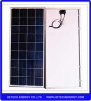 stock clearance sale best price per watt Poly 120w solar panels for home