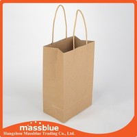 Fast food paper food bag for restaurant