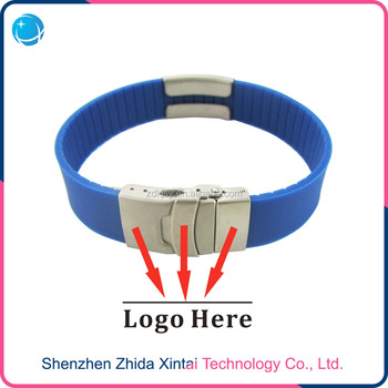 Silicone bracelet customized logo bracelet
