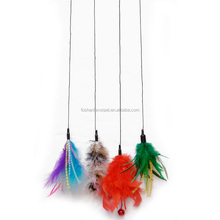 All kinds of colors new product cute feather cat teaser