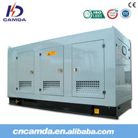 CE approved sound-proof diesel&gas turbine generator set/silent type