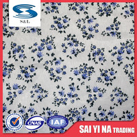 100%Polyester spandex custom cotton digital print fabric