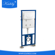 Flush Mechanism Plastic Concealed Cistern Water Tank for Wall Hung Toilet