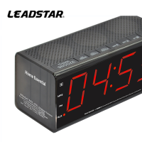 Stereo Bluetooth speaker FM Clock Radio and USB charger for iPhone smart phone