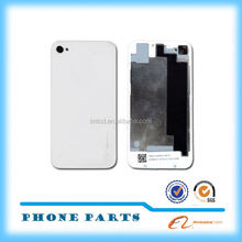 Cheap for iPhone 4 color back cover housing glass panel made in China