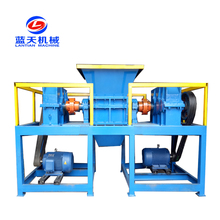 New Condition used foam chipper / cloth crushing machine / textile shredder machine