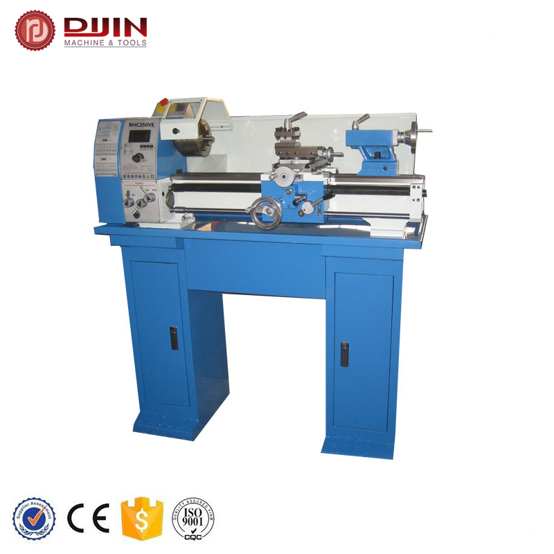 mini bench metal lathe BHC250VF <strong>X</strong> Y axis auto feed