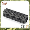 AR-15 M4 Handguard Carbine 6.7 Inch Airsoft RIS Quad Rail 2 Piece Drop-In Picatinny Mounting Rail Hunting Shooting Rifle