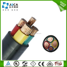 aluminum electrical n2xy 4 core 95mm power cable