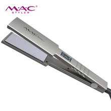 2019 Professional MCH Heater Mirror Titanium Glass Fibre Mirror <strong>Hair</strong> <strong>Straightener</strong>
