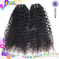 Beautiful 5A grade 100% unprocessed tight curly cambodian virgin hair human hair