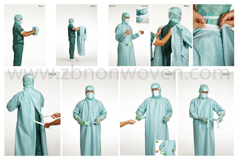 Disposable Reinforced Surgical Gown For Men And Women - Buy Surgical ...