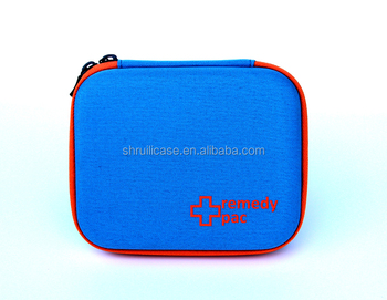 Portable Zipper Close EVA small waterproof backpack first aid kit