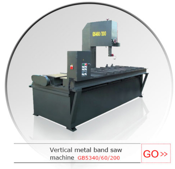 band saw machine metal cutting machine