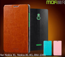 MOFi RUI Series PU Leather Smart Phone Flip Cover Case for Nokia XL, Nokia XL 4G, RM-1061