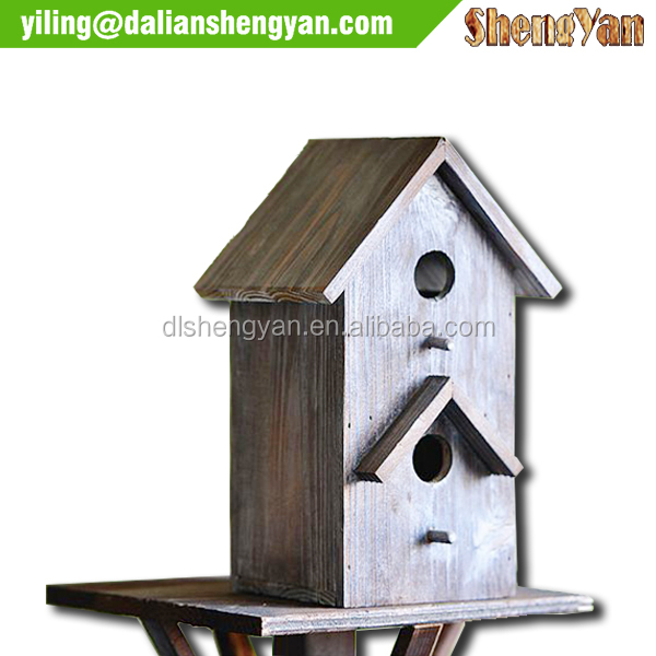 large wood creative awesome unusual Bird House Bird Breeding Cages